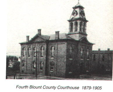 Blount County Courthouse 1905